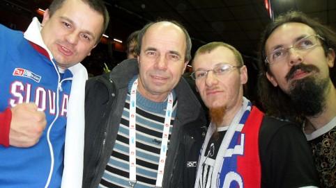 Marek spolu s komentátorom Jánom Slepičkom