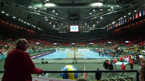 Hala Scandinavium pred zápasom Poľsko - Argentína