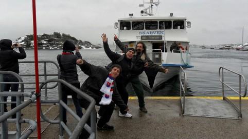 Konečne sme dorazili na ostrov Styrsö