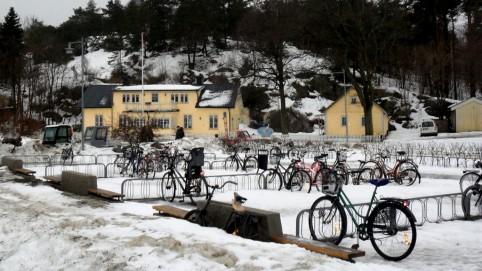 Na ostrove nejazdia autá, využívajú sa bicykle, ...