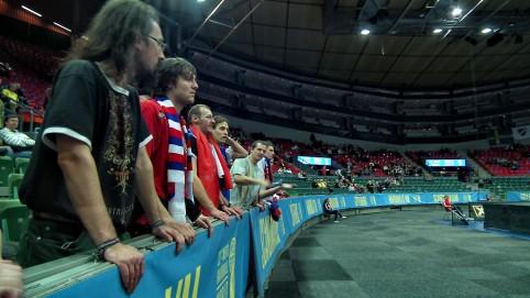 Počas zápasu s Argentínou sme to riadne prežívali.