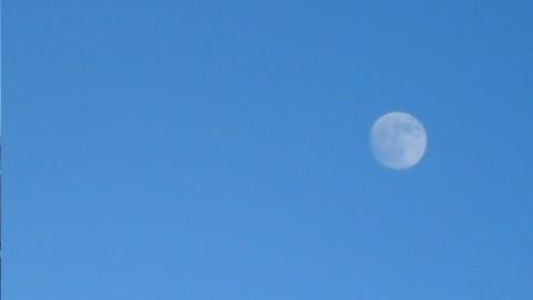 Momentka na mesiac - švédsky mesiac.