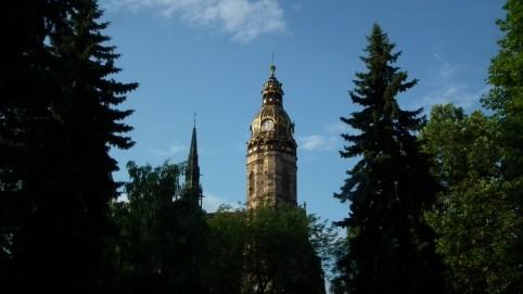 Prvý pohľad na katedrálu sv. Alžbety asi o 6 hodine ráno.