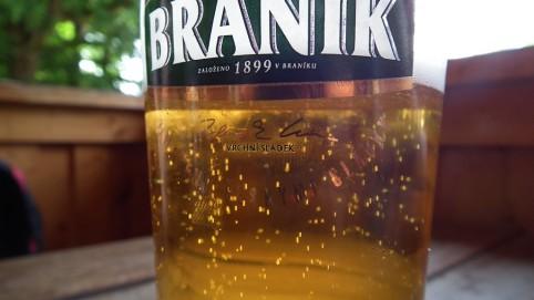 Čapovali Braník a Ostravar. Na obrázku, ale bublinky piva Ostravar.