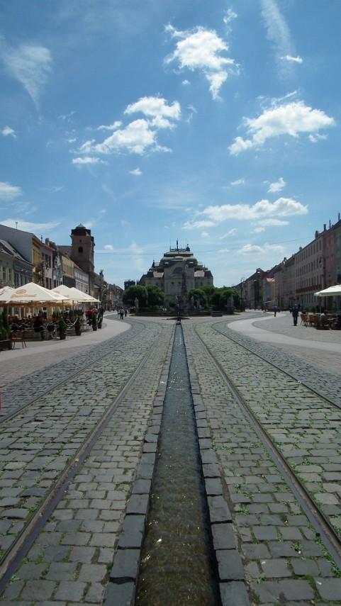 Štátne divadlo v Košiciach.