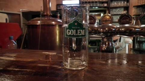 Pivo Golem bolo skvelé.