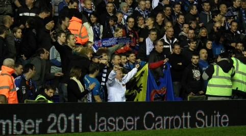Flámska i vlajka klubu nemohla chýbať.